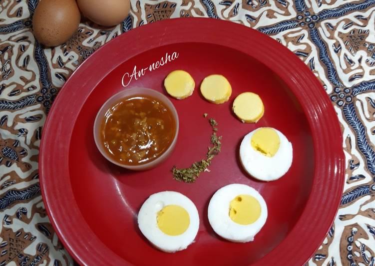Resep 70.Telur Saus Tomat