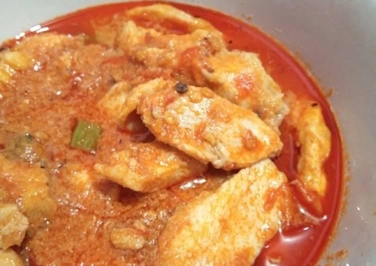 Resep Ayam Fillet Saus Balado