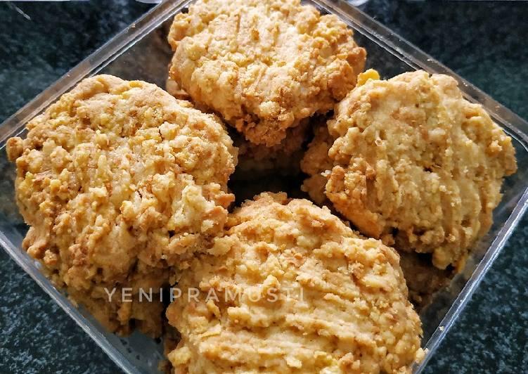 Resep Cornflakes Cheese Cookies