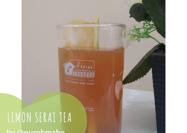 Resep Lemon Serai Tea