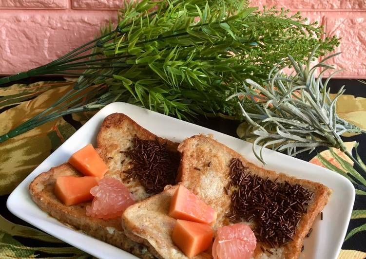 Resep French Toast 3in1