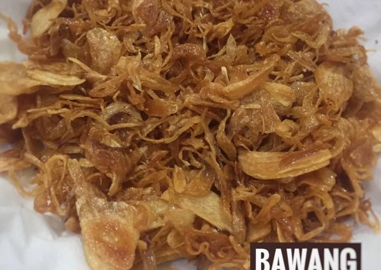 Resep Bawang Goreng Crispy