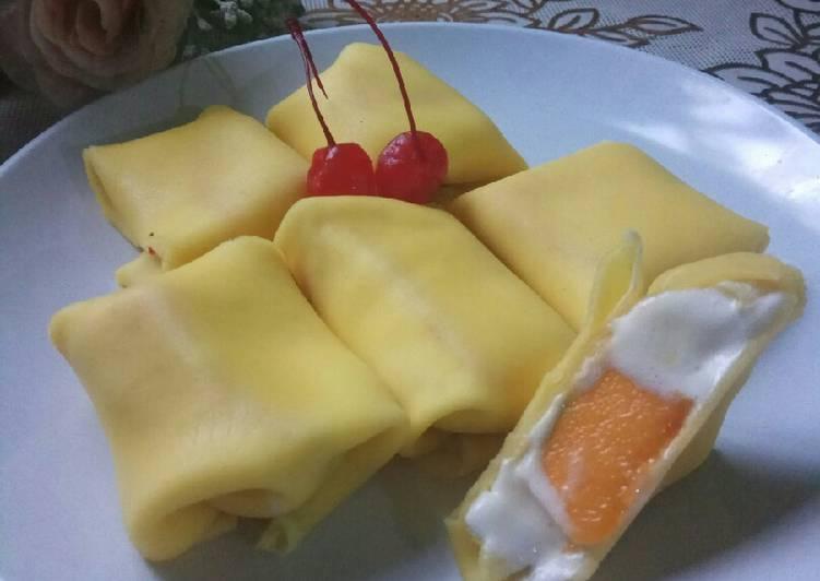 Resep 2Pancake Mangga