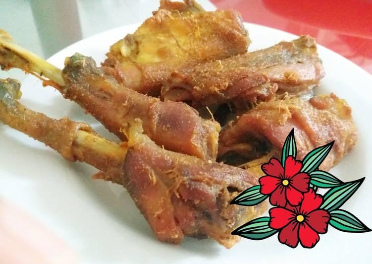 Resep Ayam kampung goreng