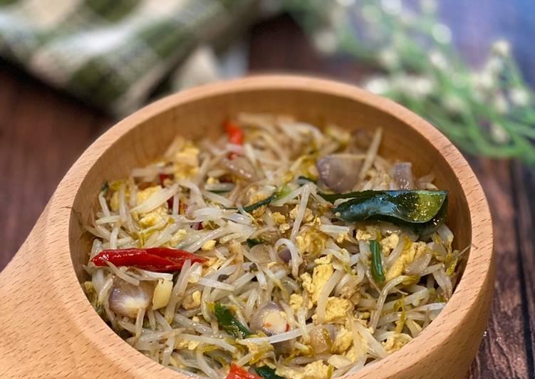 Resep Tauge Dadar Telur ala Tiger Kitchen