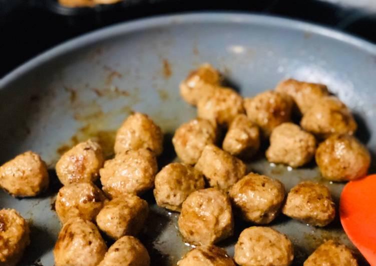 Resep Italian Meatballs ala mami Farah