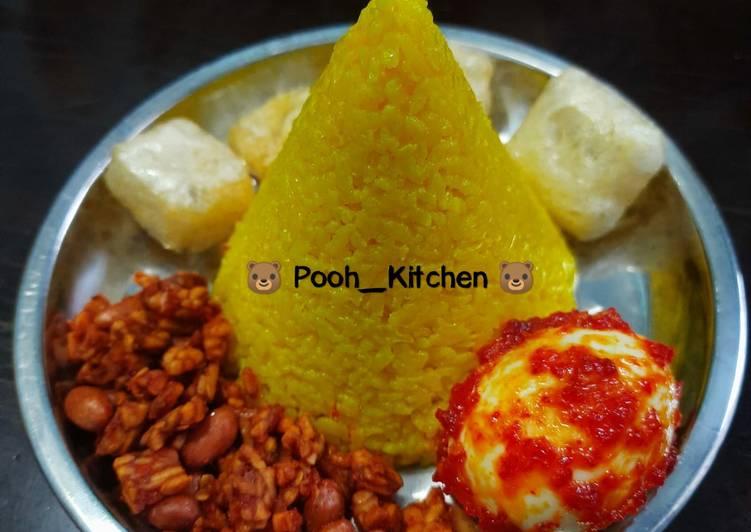 Resep #Nasi Kuning Tumpeng Mini