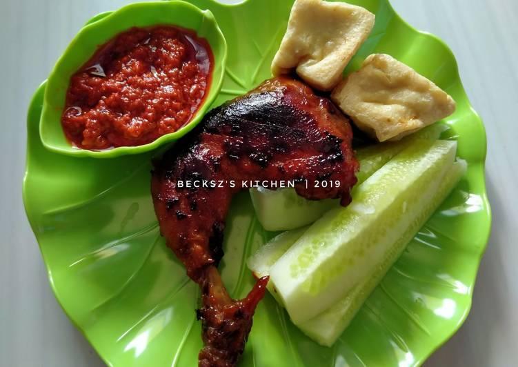 Resep Ayam Bakar Sederhana & Sambel Tumis