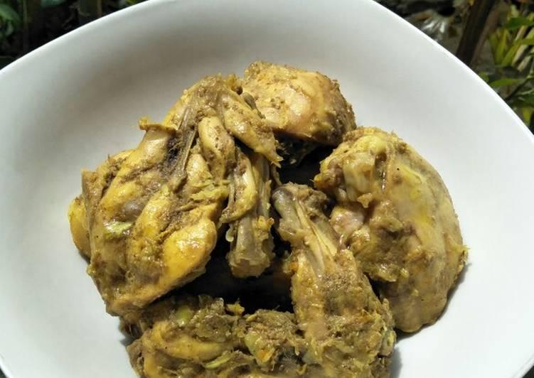 Resep Bumbu Ungkap Ayam