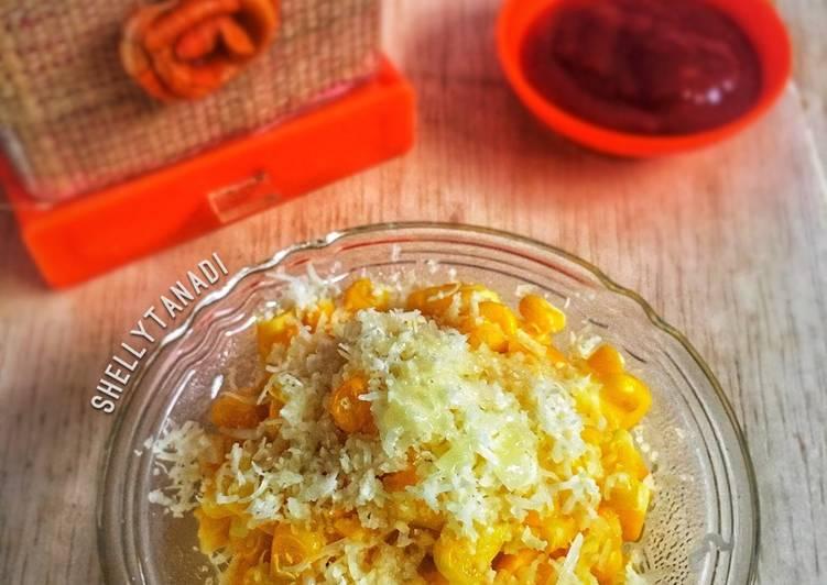 Resep Salad jagung / Jagung susu keju