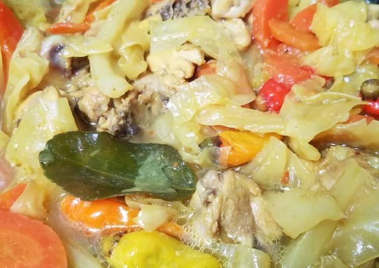 Resep Kare Kuning Ayam
