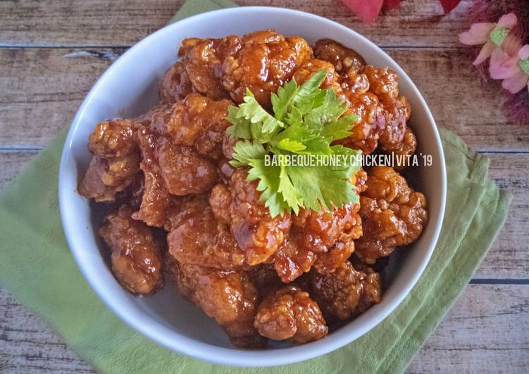Resep Barbeque Honey Chicken