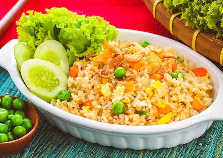 Resep Nasi Goreng Saus Tiram