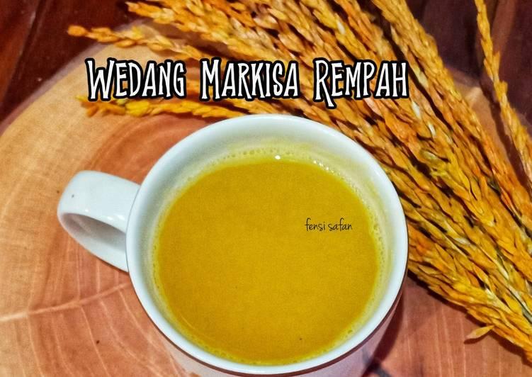 Resep Wedang Markisa Rempah