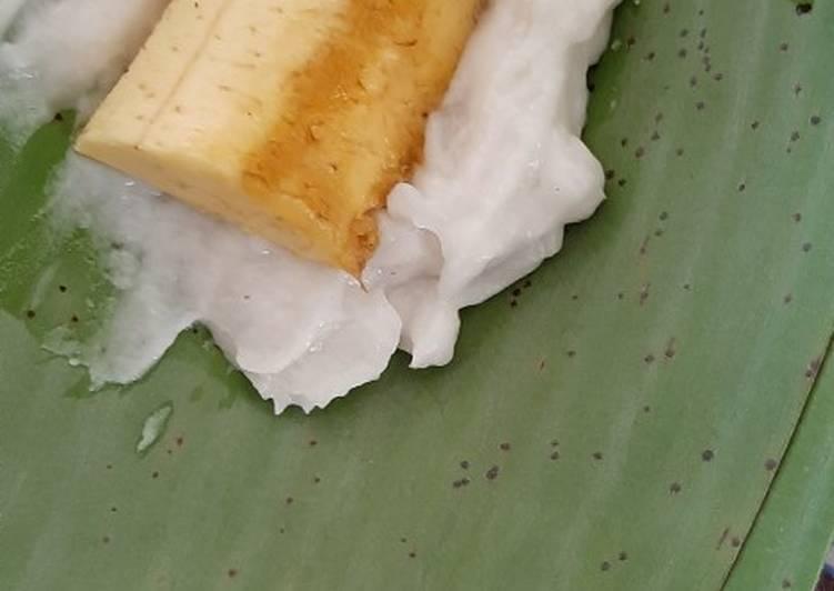 Resep NAGASARI / Papais Pisang