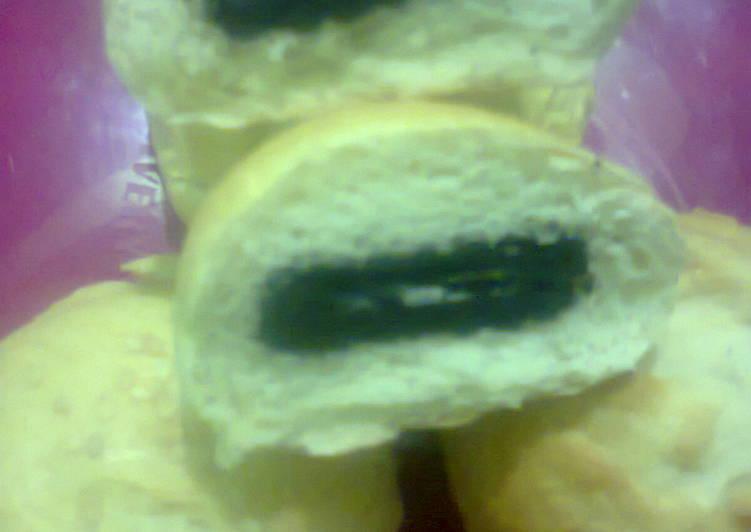 Resep Roti unyil isi oreo