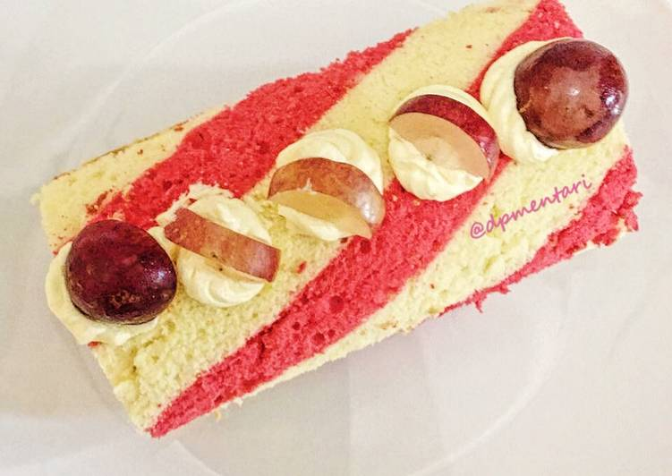 Resep Strawberry Roll Cake