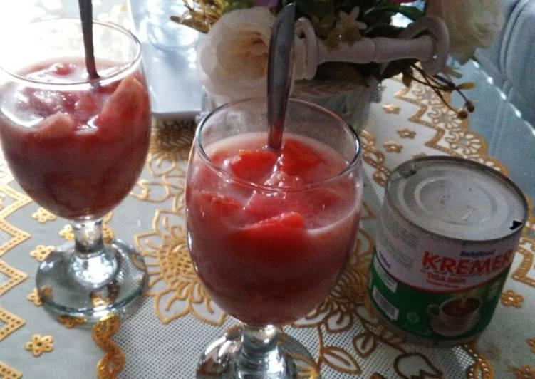 Resep Tomat Susu Seger