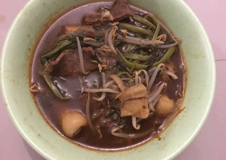 Resep Thai Steam Boat Vermicile Soup