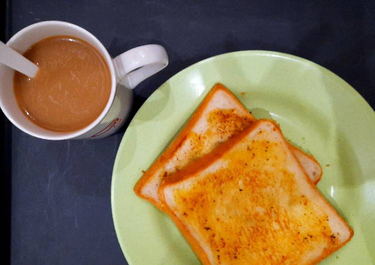 Resep Garlic Bread Toast - 3 bahan