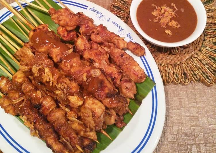 Resep Sate Ayam ala sate senayan kw