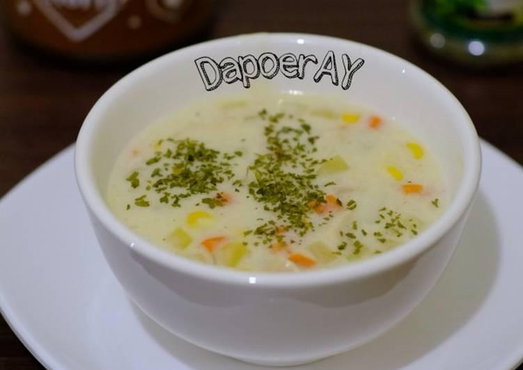 Resep Sup Krim Ayam