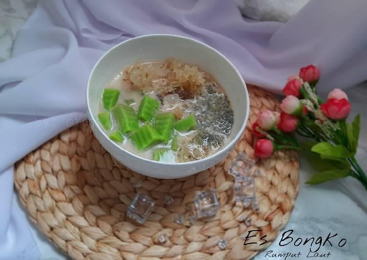 Resep Es Bongko Rumput Laut