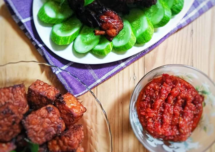 Resep Ayam & Tempe Bumbu Bacem