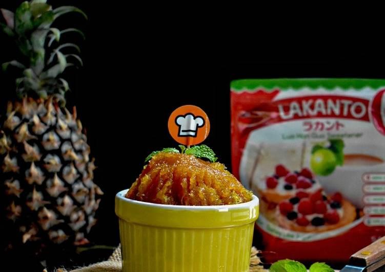 Resep Pineapple Jam Low Calori(Filling Untuk Nastar)