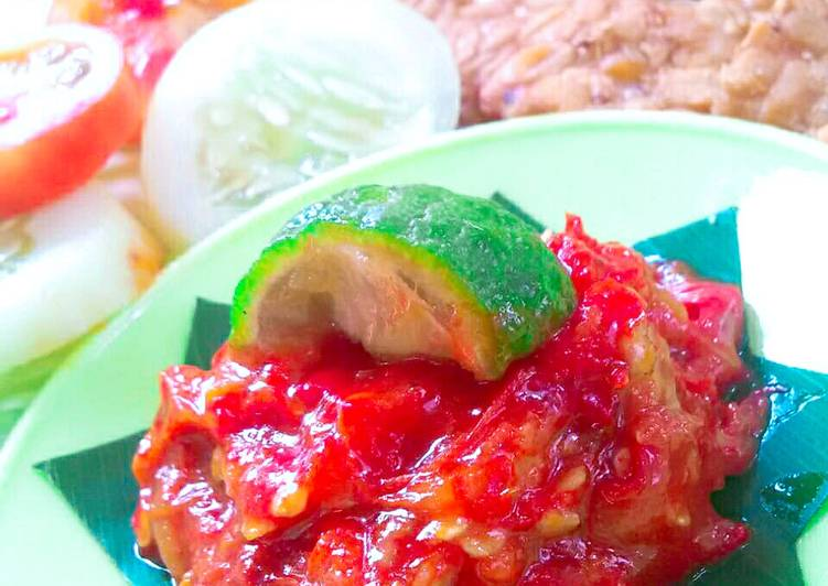 Resep SAMBAL JERUK - Cocok untuk Penyetan (tempe tahu/ayam/lele)