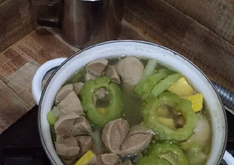 Resep Sup Pare Bakso Tahu