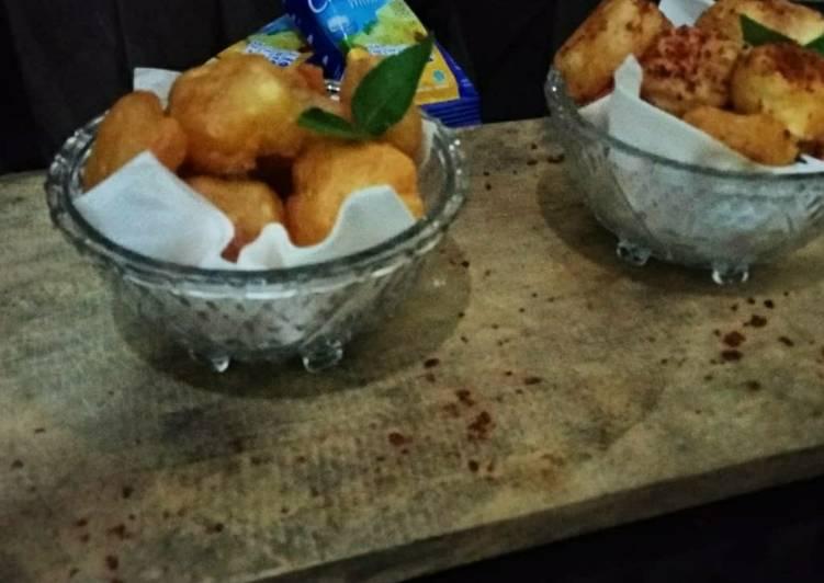 Resep Singkong Keju Krispy