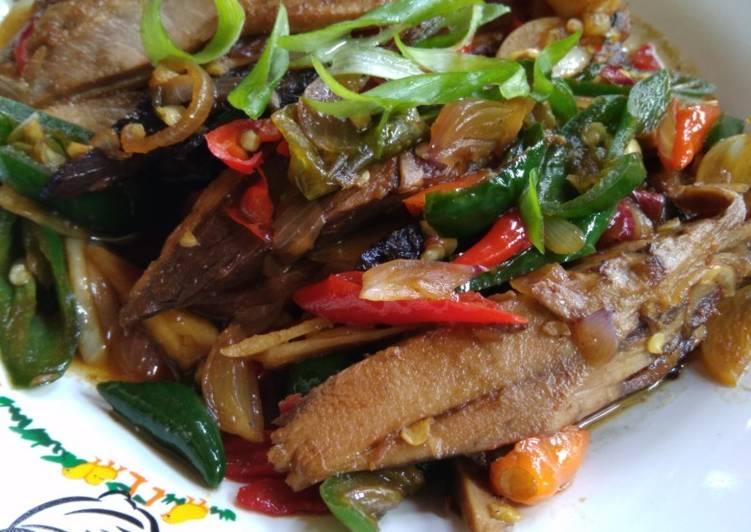 Resep Pindang Tongkol saos manis