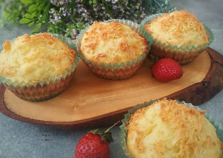 Resep Cheese Muffin Yogurt with mozarella
