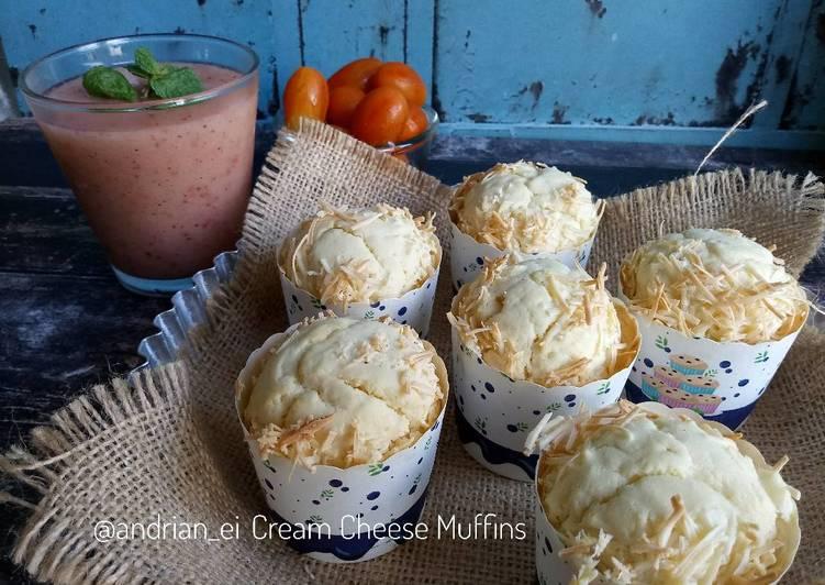 Resep Cream Cheese Muffins #beranibaking