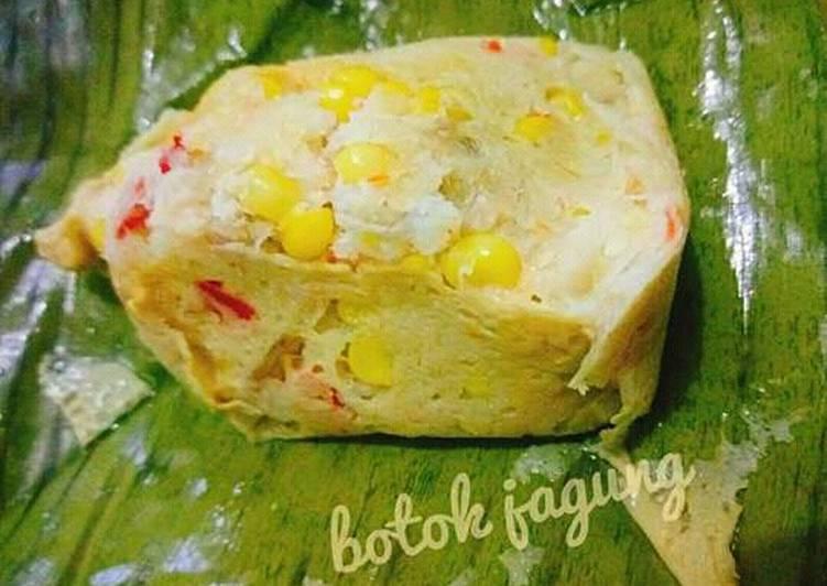 Resep Botok jagung simple