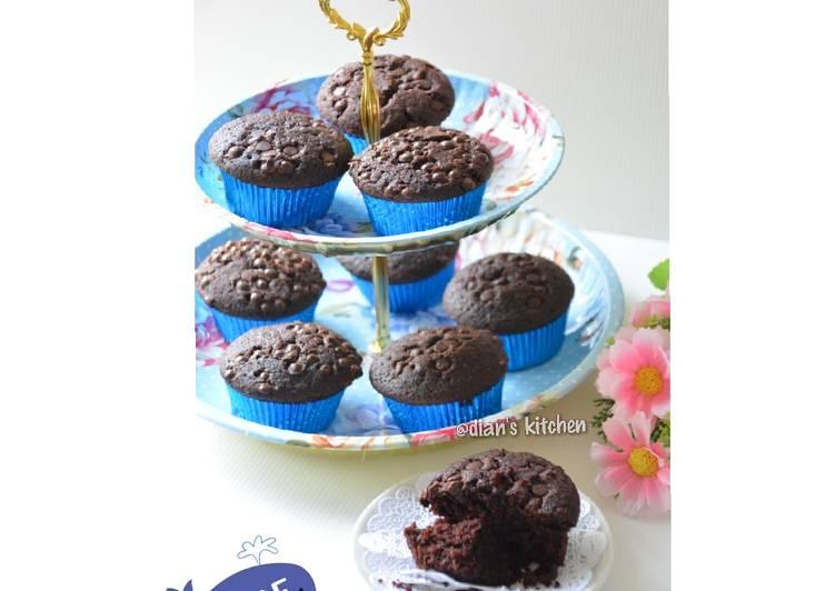 Resep Choco Custard Muffin