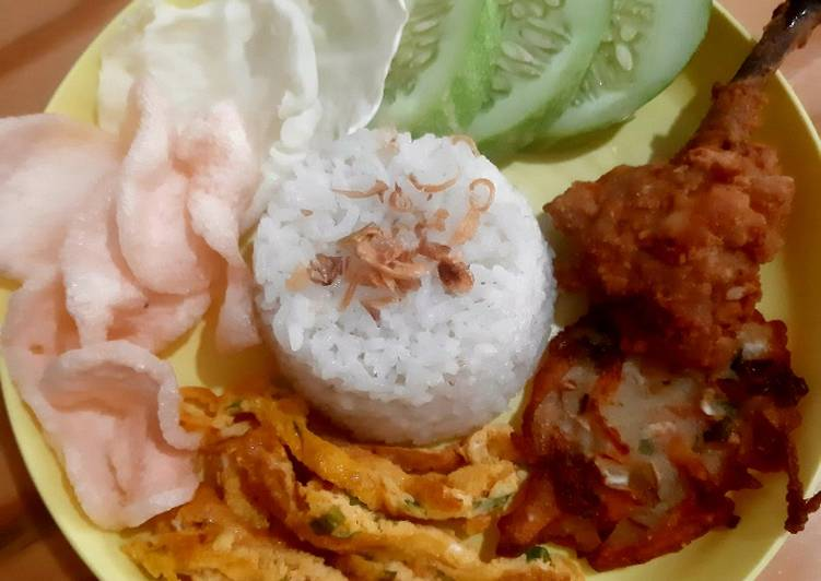 Resep Nasi Uduk Rice Cooker