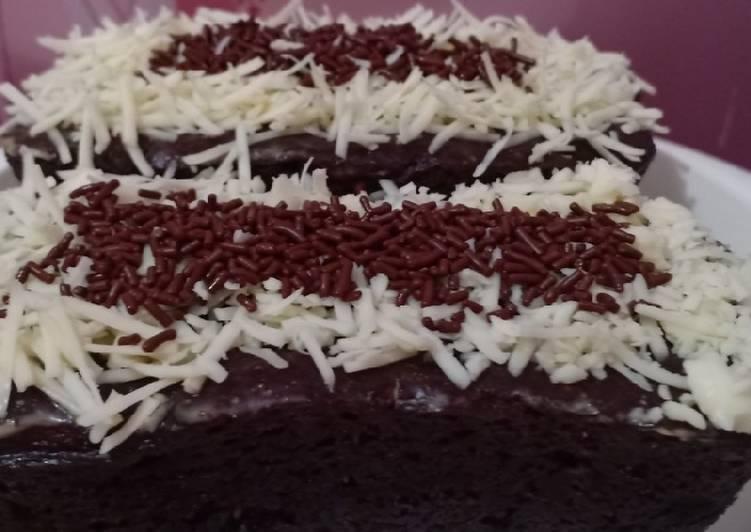 Resep Brownies kukus nutricake praktis enak anti gagal
