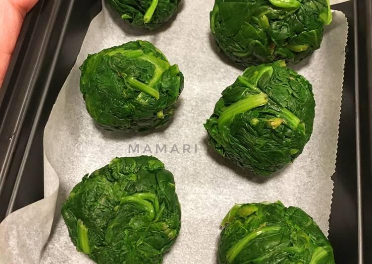 Resep Tips Menyimpan Bayam (sayuran beku)