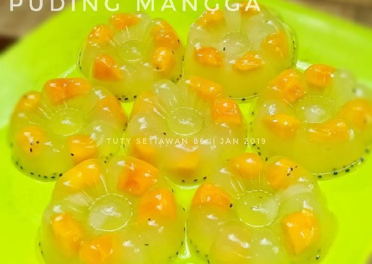 Resep Puding Mangga