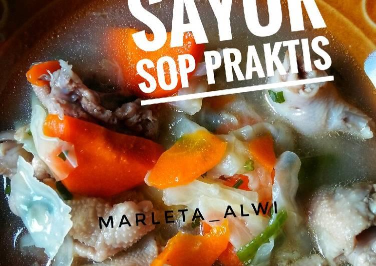 Resep Sayur sop praktis #rabubaru