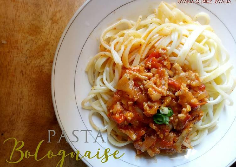 Resep Pasta Bolognaise