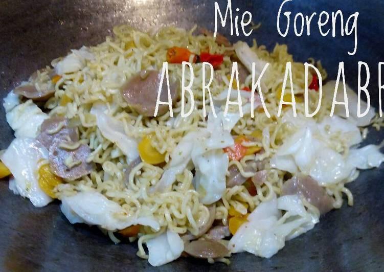 Resep Mie Goreng Abrakadabra