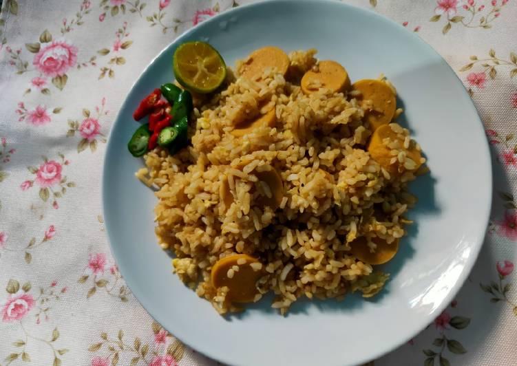 Resep Nasi Goreng Barbeque