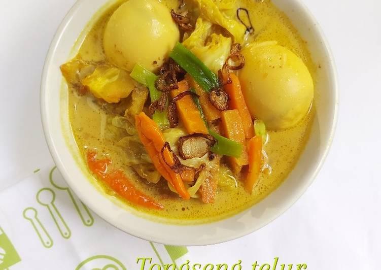 Resep Tongseng Telur