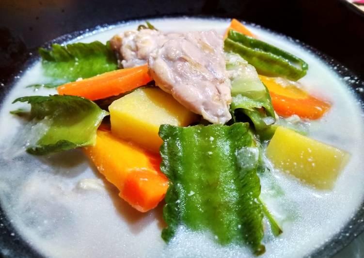 Resep Tempe & Sayur Santan Gurih