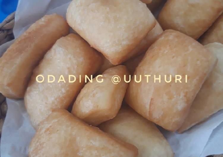 Resep Odading Empuk/Roti Goreng/Roti Bantal