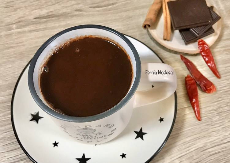 Resep Spicy Aztec Hot Chocolate