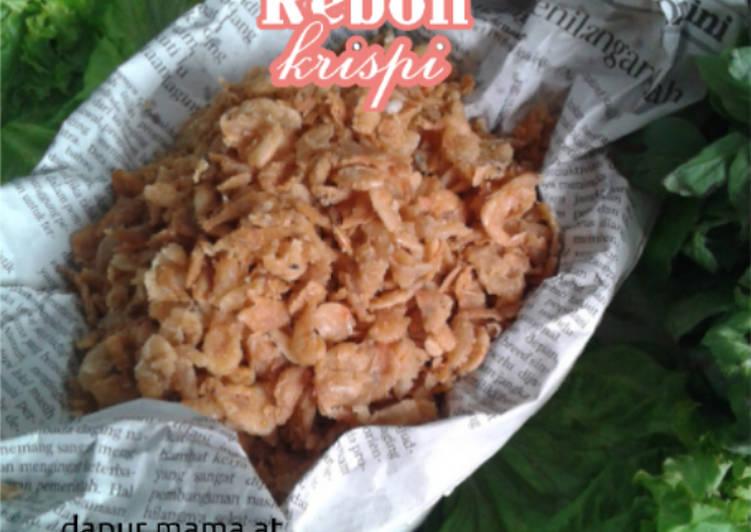 Resep Udang Rebon Krispi